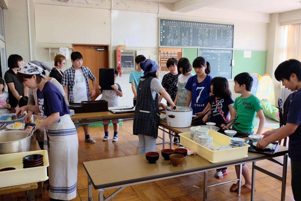 スマイルキッチン(こども食堂)開催