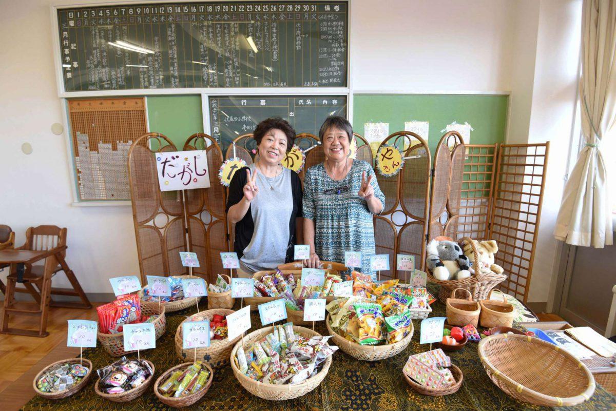 駄菓子屋さんが1日限りのプレオープンをしました!