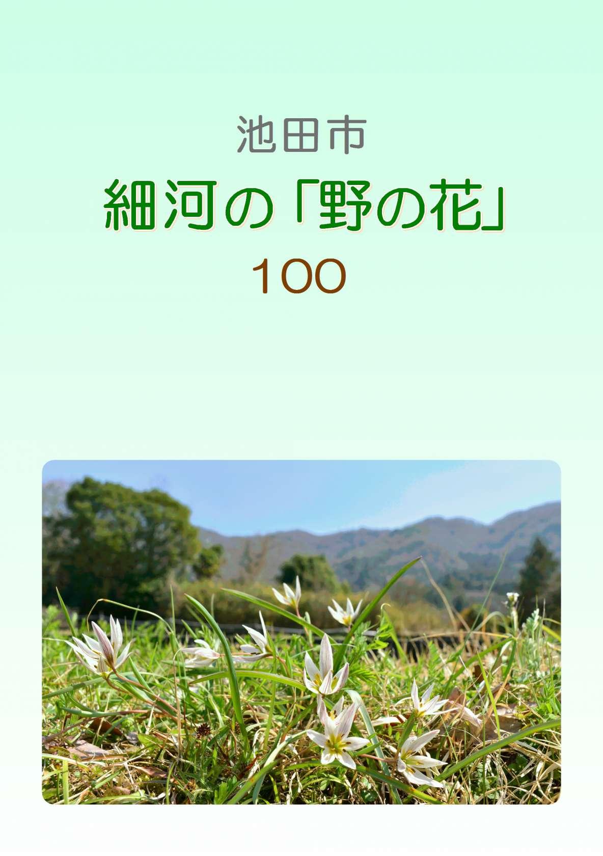 池田市 細河の生き物たち(冊子と写真展)