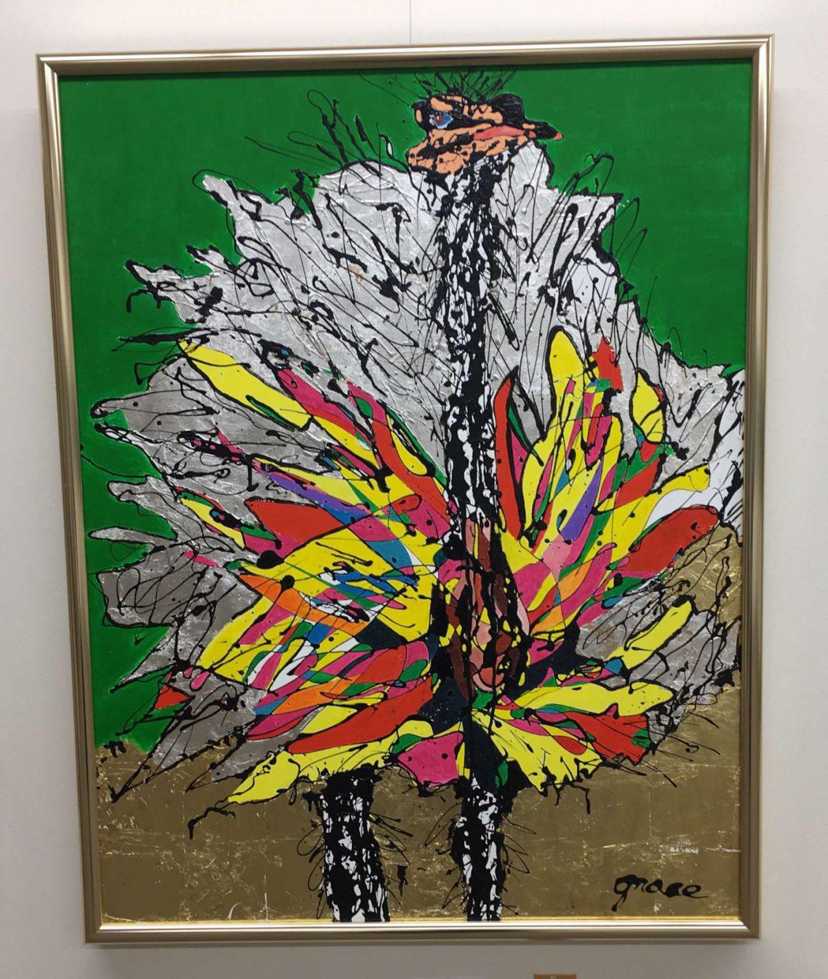 池田市美術展で伏尾台から5名が入賞